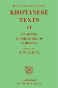 Khotanese Texts